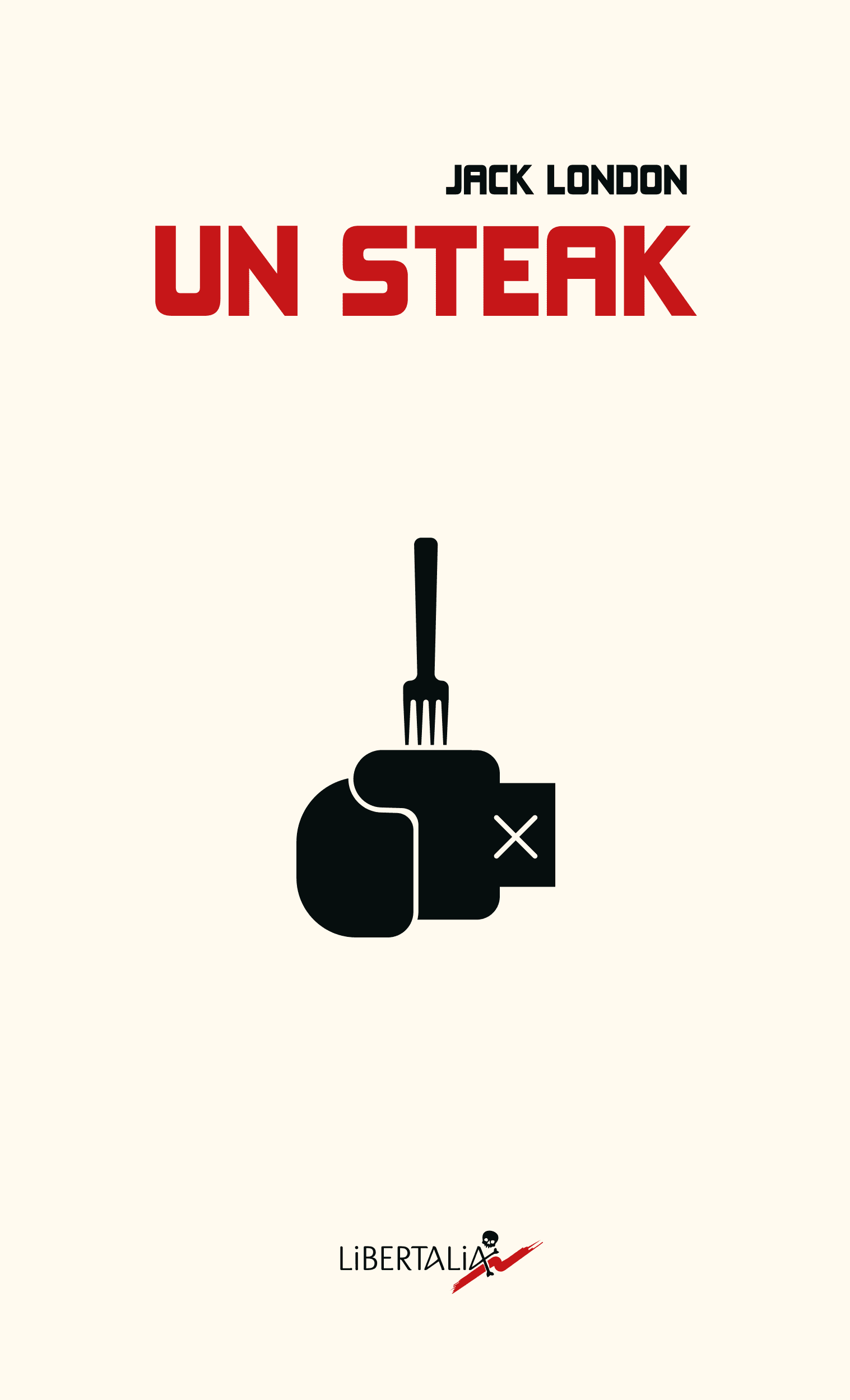 Un steak par Bruno Bartkowiak, graphiste illustrateur en Ariège, Occitanie.